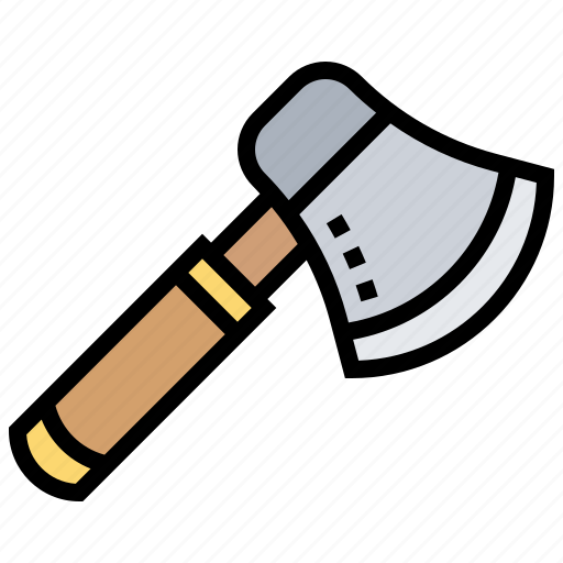 Ax, chop, firefighter, weapon, wood icon - Download on Iconfinder
