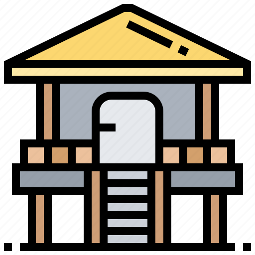 Booth, cabin, hut, rescue, shack icon - Download on Iconfinder