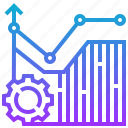 chart, graph, growth, improvement, progress icon