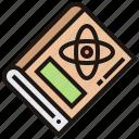 atom, book, molecular, science, study