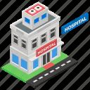care center, health center, health clinic, hospital, hospital building, medical center, medical clinic