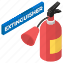 extinguisher security, fire extinguisher, fire grenade, fire safety, fire weapon icon