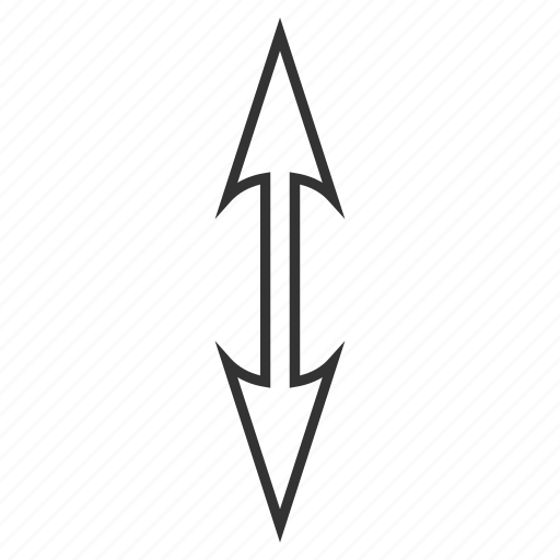 arrow, change, exchange, flip flop, replace, sync arrows, vertical size icon