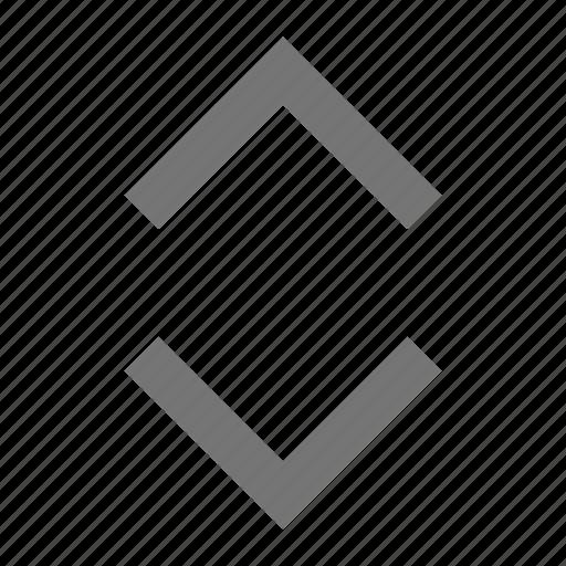 expand, horizontal icon