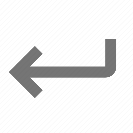 arrow, back, move icon