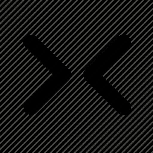 arrows, navigation, resize icon