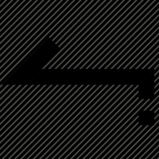 arrow, back, previous icon