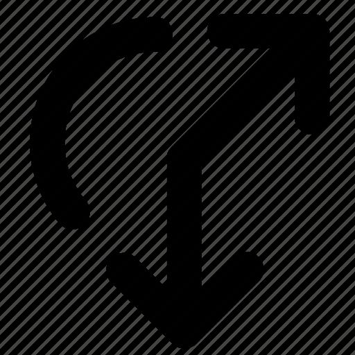 adjustment, arrows, resize, rotation icon