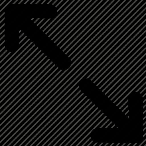 adjustment, expand, resize, scale icon