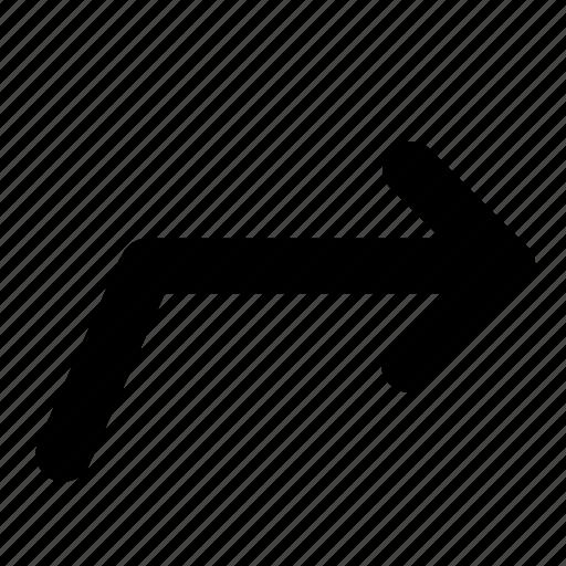 arrow, next, resize icon