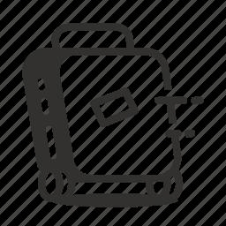 baggage, luggage, travel, trip icon