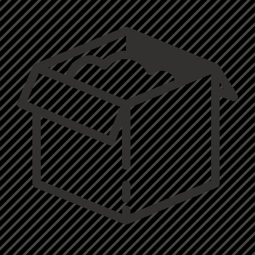 box, donation, storage icon