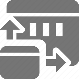 design, expand, window icon