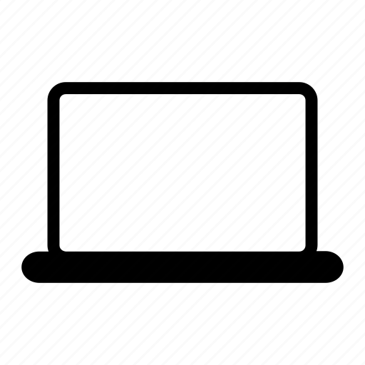 computer, laptop, macbook, notebook, portable icon