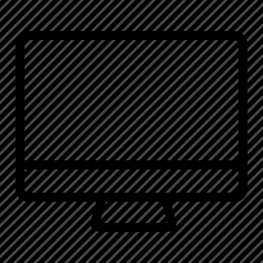 computer, desktop, display, imac, pc, responsive, screen icon