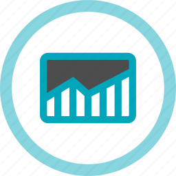 analytics, chart, data, graph, growth, report, statistics icon