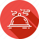 dish, dom, dome, food, kitchen, plate icon