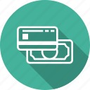bill, cash, method, payment icon