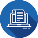 bill, commerce, invoice, payment, receipt, ticket icon