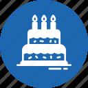 birthday, cake, dessert, food, sweet icon