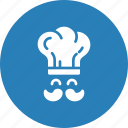 chef, cook, cooking, kitchen, restaurant icon