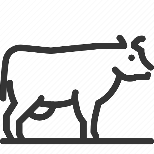 Animal, cow, farming, mammal, meat icon - Download on Iconfinder
