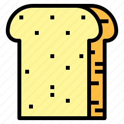 baguette, bread, breads, food, foods, handmade icon