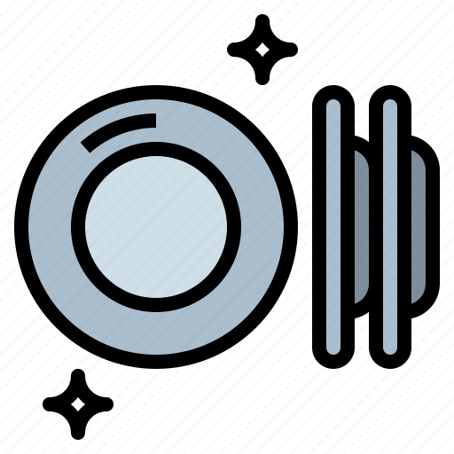 bowls, dish, food, kitchenware, plates icon