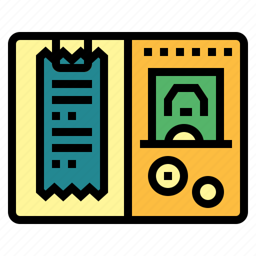 bill, business, commerce, payment, receipt icon