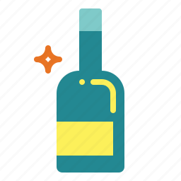 alcohol, alcoholic, bar, beer, bottle, drin, drink icon