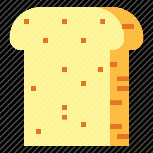 baguette, bread, breads, food, foods, handmade icon