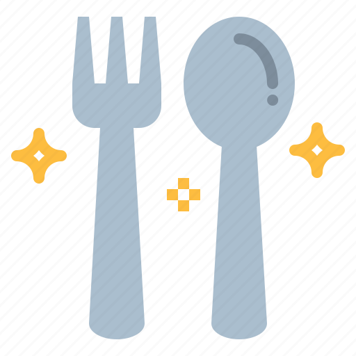 and, cutlery, fork, restaurant, spoon, tools, utensils icon