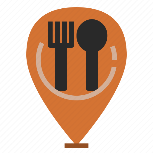 Cafeteria, canteen, eating, landmark, location, restaurant icon - Download on Iconfinder
