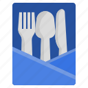 holder, kitchen, manners, meal, restaurant, table, utensils icon