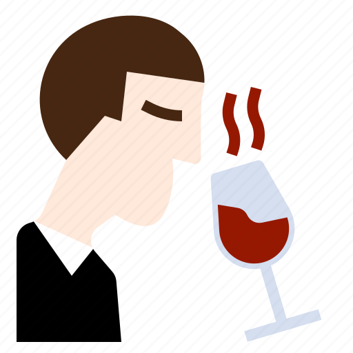 Drinks, manners, smell, specialist, taste, wine, winery icon - Download on Iconfinder