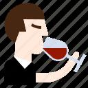 drinks, manners, specialist, taste, wine, winery icon