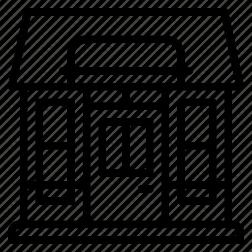 building, element, restaurant, shop, store icon