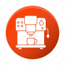 appliance, coffee, machine, restaurant equipment, tool icon
