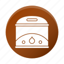 appliance, fryer, restaurant equipment, tool icon