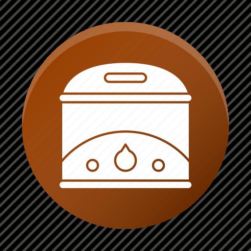 appliance, fryer, restaurant equipment, tool icon