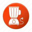 appliance, juicing, machineblender, restaurant equipment, tool icon