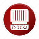 appliance, grill, press, restaurant equipment, tool icon