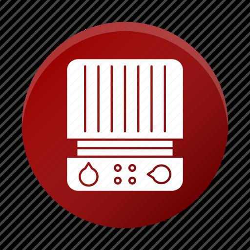 appliance, grill, press, restaurant equipment, tool icon
