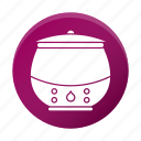 appliance, restaurant equipment, soup, tool, warmer icon