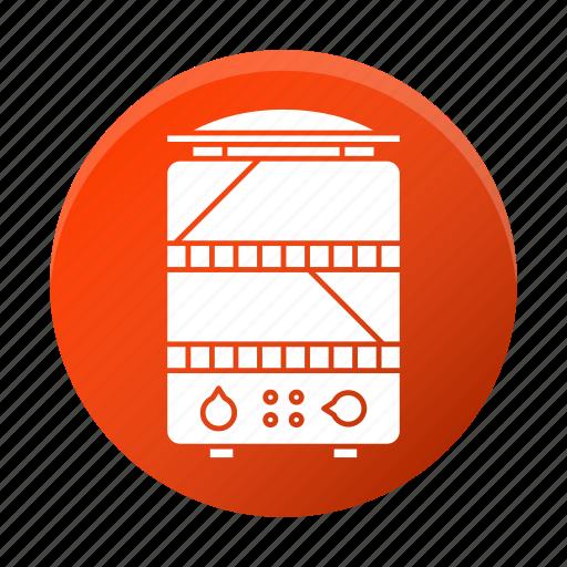 appliance, restaurant equipment, steamer, tool icon