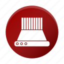 appliance, exhaust, hood, restaurant equipment, tool icon
