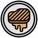 barbecue, food, grilled, meat, proteins, steak icon