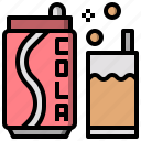 beverage, can, cola, soda, sugar icon