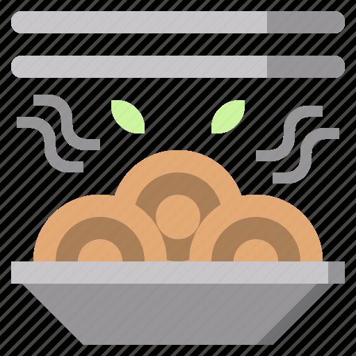 food, healthy, italian, meatballs, pasta, spaghetti icon