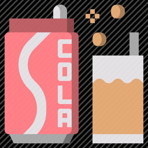 beverage, can, cola, light, pop, soda, sugar icon